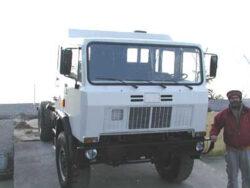 Truck 4x4 Iveco ACM 90 mezzo originale