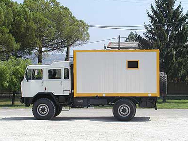 truck 4x4 Adventure Raffaello-Torino ACM90
