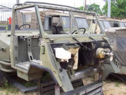 iveco-VM90 4x4 pickup smontato