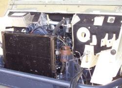 allestimento motore e cabina WM 90