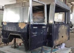 costruzione prototipo cabina WM 90