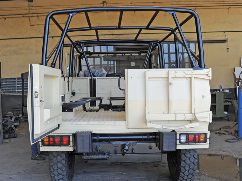 WM90 40E15 montaggio roll bar retro