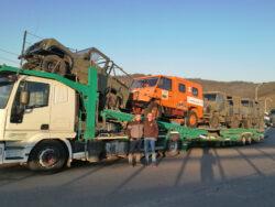 trasporto veicoli WM 90-40E13 da restaurare