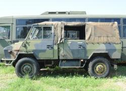 veicolo WM90 40E13 da restaurare