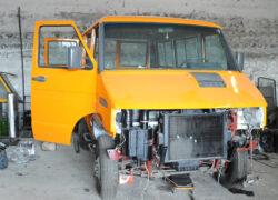 Iveco Turbo Daily 4x4 rimontaggio componenti mezzo