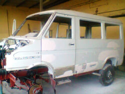 Iveco Turbo Daily 35-10 4x4 in officina