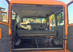 Iveco Turbo Daily 4x4 montaggio nuova selleria