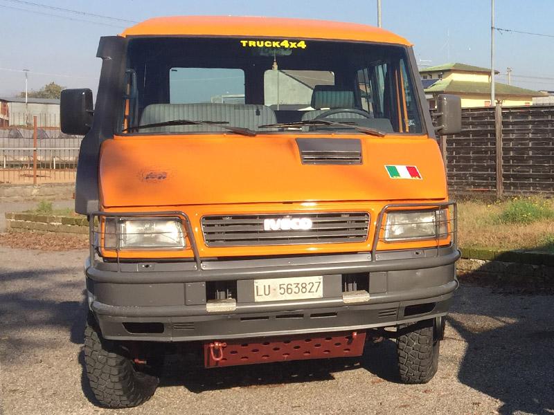 Iveco TurboDaily 4x4 40-10 prova in strada