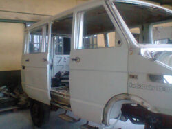 Iveco Turbo Daily in officina
