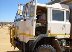 Iveco ACM 90 4X4 truck avventure. Algeria sosta