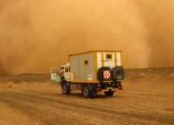 Mali-Mauritania, tempesta di sabbia