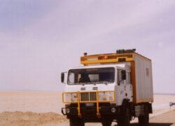 Iveco ACM 90 4X4 truck avventure. Tunisia