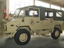 Iveco WM90 ex Protezione Civile mezzo da parata