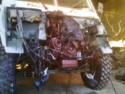 WM 90 montaggio nuovo motore in officina