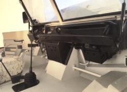 WM 90 ispezione verniciatura interno cabina